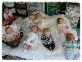 nurserie, nurserie du monde, bébé reborn fille, bébé reborn garçon, bébé reborn, layette, petit gilet, brassière,ouzouer sur loire,loiret,poupon,