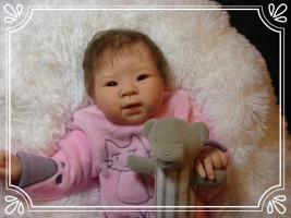 nurserie, nurserie du monde, bébé reborn fille, poupon, bébé reborn garçon, bébé reborn, layette, petit gilet, brassière,ouzouer sur loire,loiret,